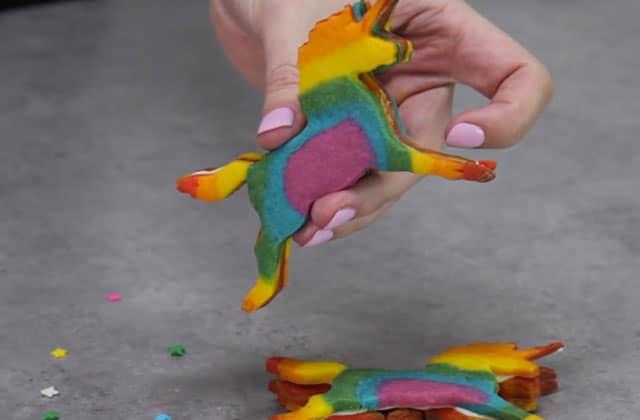 Le cookie licorne qui pète des arc-en-ciels : le tuto vidéo
