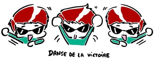 danse de la victoire