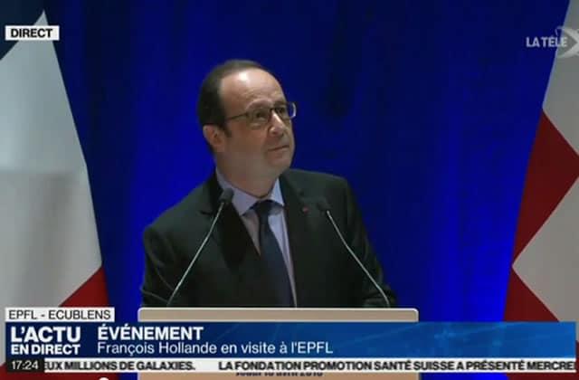 François Hollande offre des cours en ligne d'OpenClassrooms à tous les demandeurs d'emploi