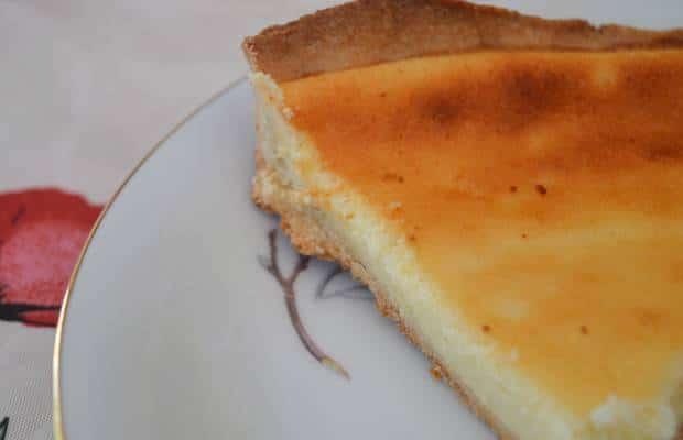 gâteau citron fromage blanc tarte
