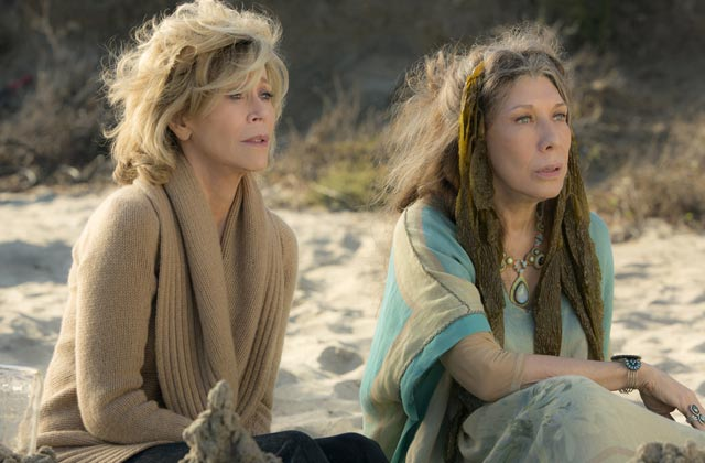 « Grace and Frankie », avec Jane Fonda, a son premier trailer