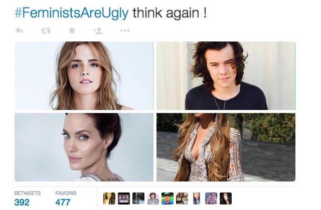 Le hashtag #FeministsAreUgly crée la confusion sur Twitter