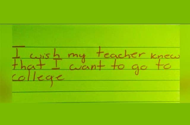 «#IWishMyTeacherKnew », un hashtag pour parler à ses profs