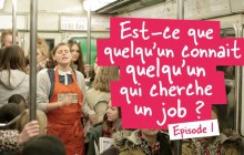 Michel et Augustin cherche des nouveaux employés… dans le métro!
