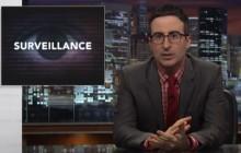 John Oliver et Edward Snowden expliquent le Patriot Act (avec des photos de pénis)