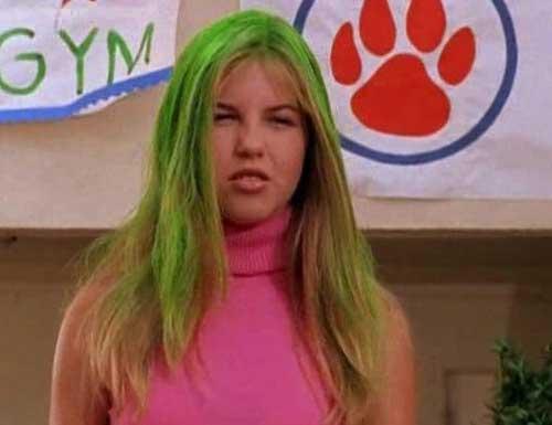 kate-lizzie-mcguire-cheveux-verts