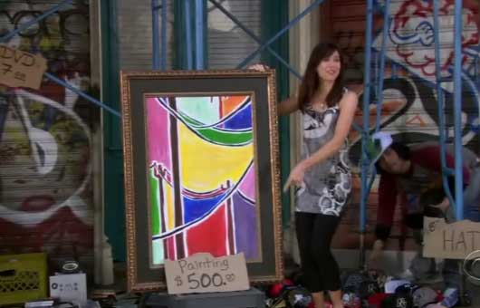 lily painting himym