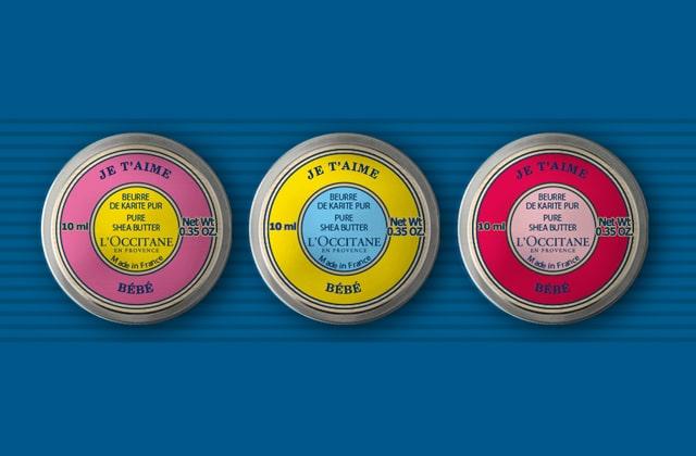 L'Occitane propose un service de personnalisation de ses beurres de karité