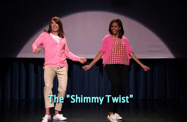 Michelle Obama danse (encore) sur le plateau de Jimmy Fallon