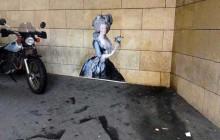 Outings Project, le street art mêlé à la peinture classique