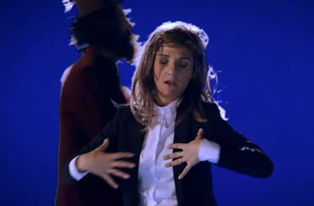 Le Palmashow chante « Quinoa » avec Florence Foresti parodiant Christine & The Queens
