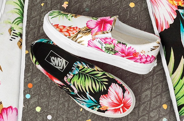Van's dévoile sa collection Hawaiian Floral pour le printemps 2015
