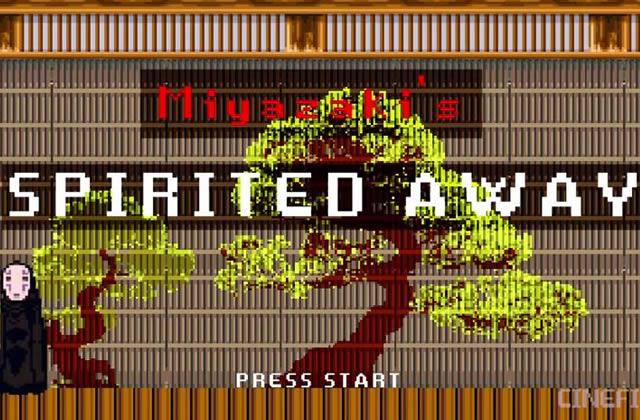 Le voyage de Chihiro… en 8-bits!