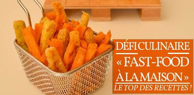 Défi culinaire « fast-food à la maison » — Le top des recettes