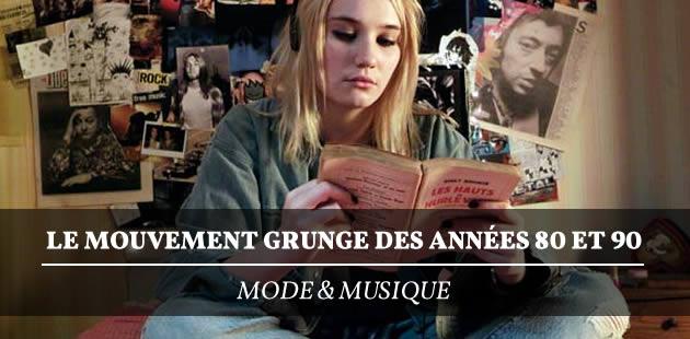 Le mouvement grunge des années 80 et 90 — Mode & musique
