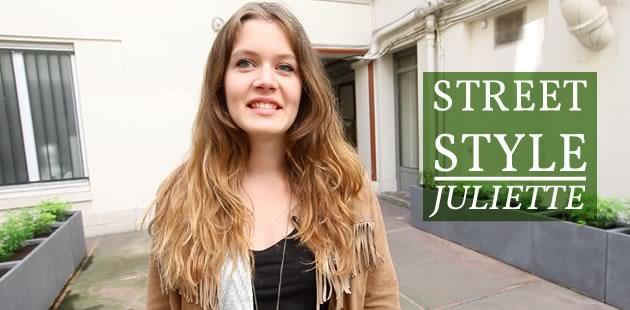 Street Style — Juliette et sa veste de cow-boy