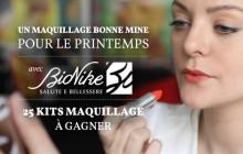 Tuto beauté — Un maquillage bonne mine pour le printemps, avec BioNike !