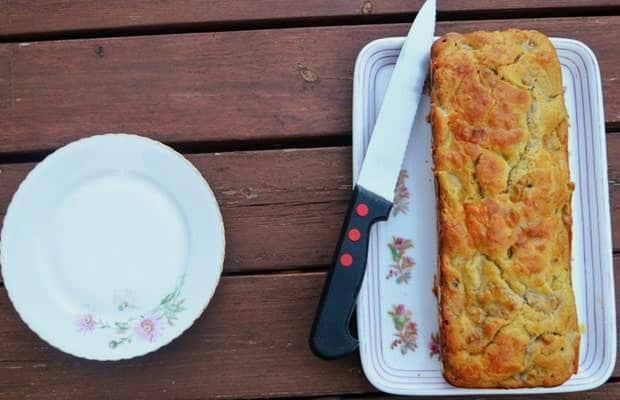 cake poire gorgonzola