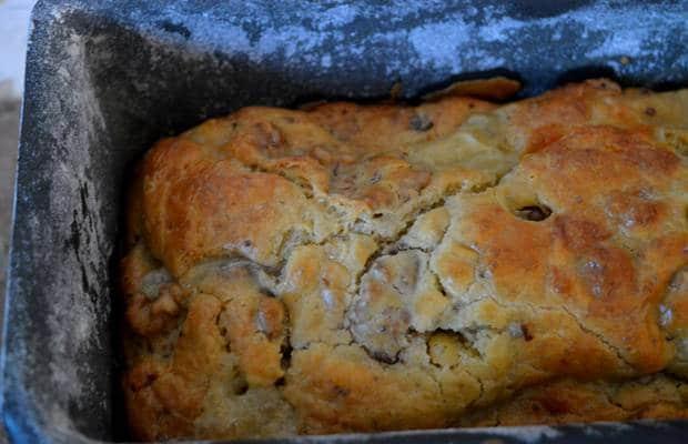 cake poires gorgonzola moule