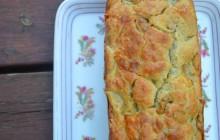 Cake poires/gorgonzola — Recette pour un apéro sucré/salé