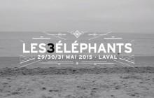 3 packs et pass week-end à gagner avec le festival des 3 Eléphants !