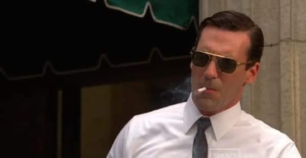 don draper cigarette