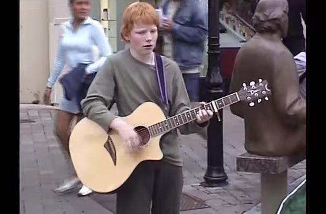 Ed Sheeran sort le clip rétro et autobiographique de « Photograph»