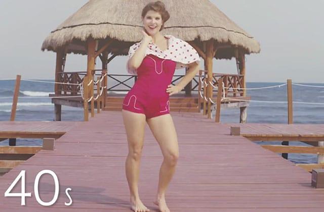 L'évolution du maillot de bain des années 1890 à 2015