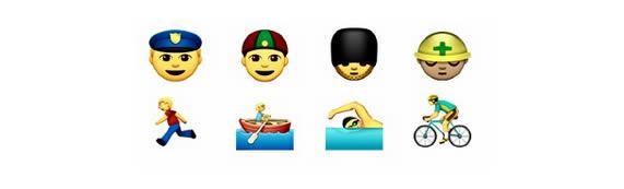 hommes emojis