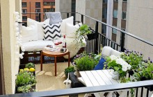 Rendez votre balcon fort joli grâce à trois inspirations différentes