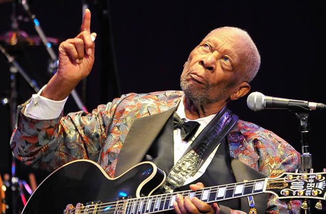 B.B King, une légende du blues, est mort