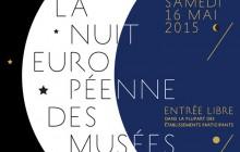 La Nuit des Musées 2015, c'est ce samedi 16 mai !