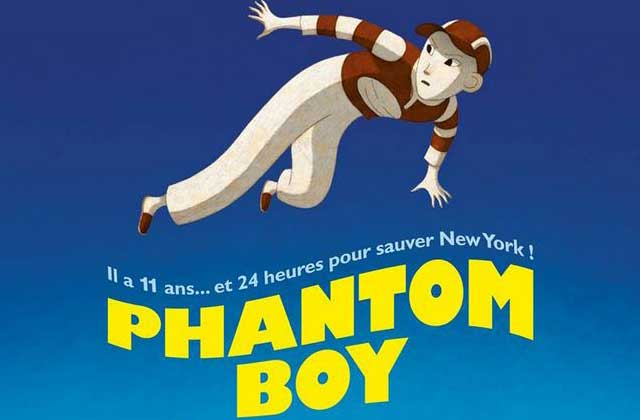 Phantom Boy, un chouette film d'animation, a son premier trailer !