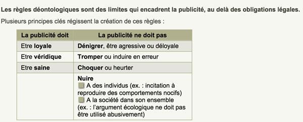 publicite-regles-deontologiques