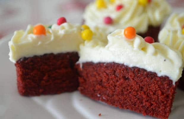 red velvet cupcakes intérieur