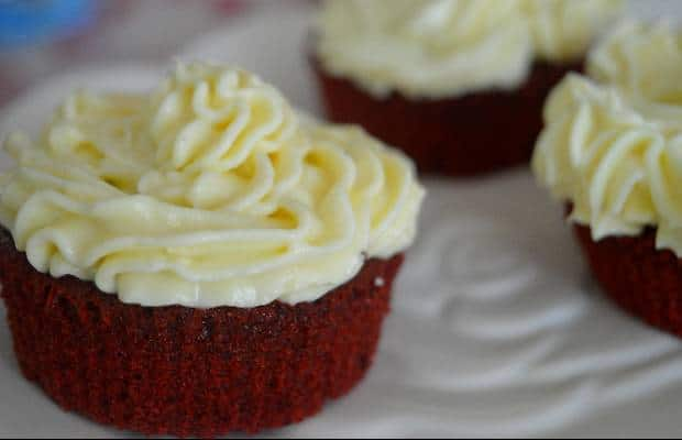 red velvet cupcakes recette 2
