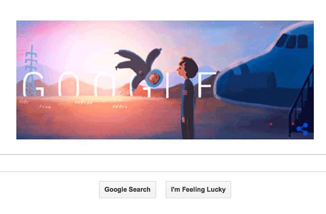 Sally Ride, astronaute américaine, à l'honneur dans le Google Doodle du jour