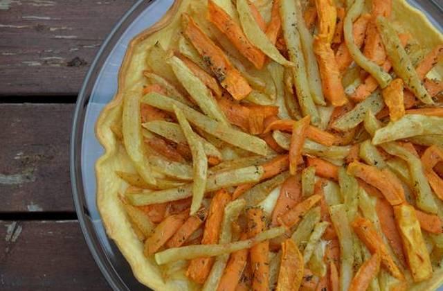 La tarte aux frites — recette croquante