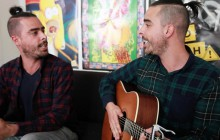 Yanis chante « The Run » en acoustique