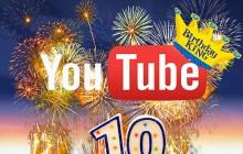 YouTube fête son 10ème anniversaire en vidéo