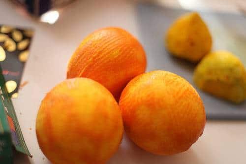 zestes oranges