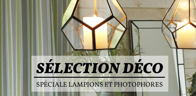 Sélection déco — Spéciale lampions et photophores