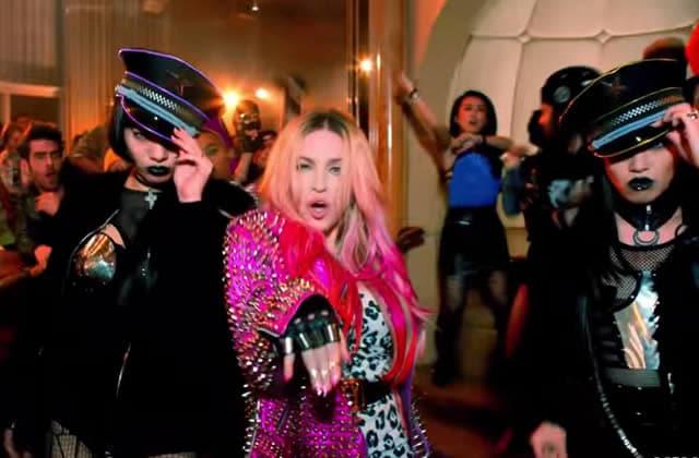 «Bitch I'm Madonna», un clip sulfureux et plein de stars