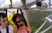 Le chat volant, ou quand la mascotte d'un aéro-club fait son baptême de l'air