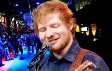 Ed Sheeran se lance dans le heavy metal et le rap chez Jimmy Fallon