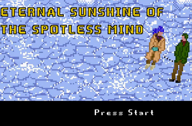 « Eternal Sunshine of the Spotless Mind » a sa version 8-bits pleine d'émotions