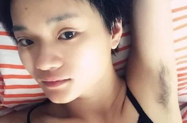 Une féministe chinoise lance un concours d'aisselles poilues