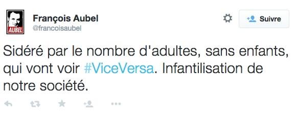 francois aubel tweet