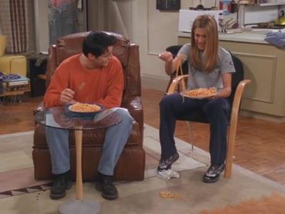 joey rachel friends pasta