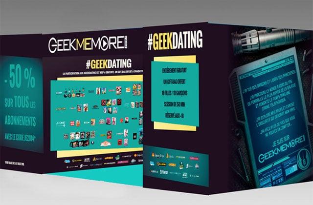 Les #GeekDating de GeekMeMore sont de retour à Japan Expo !